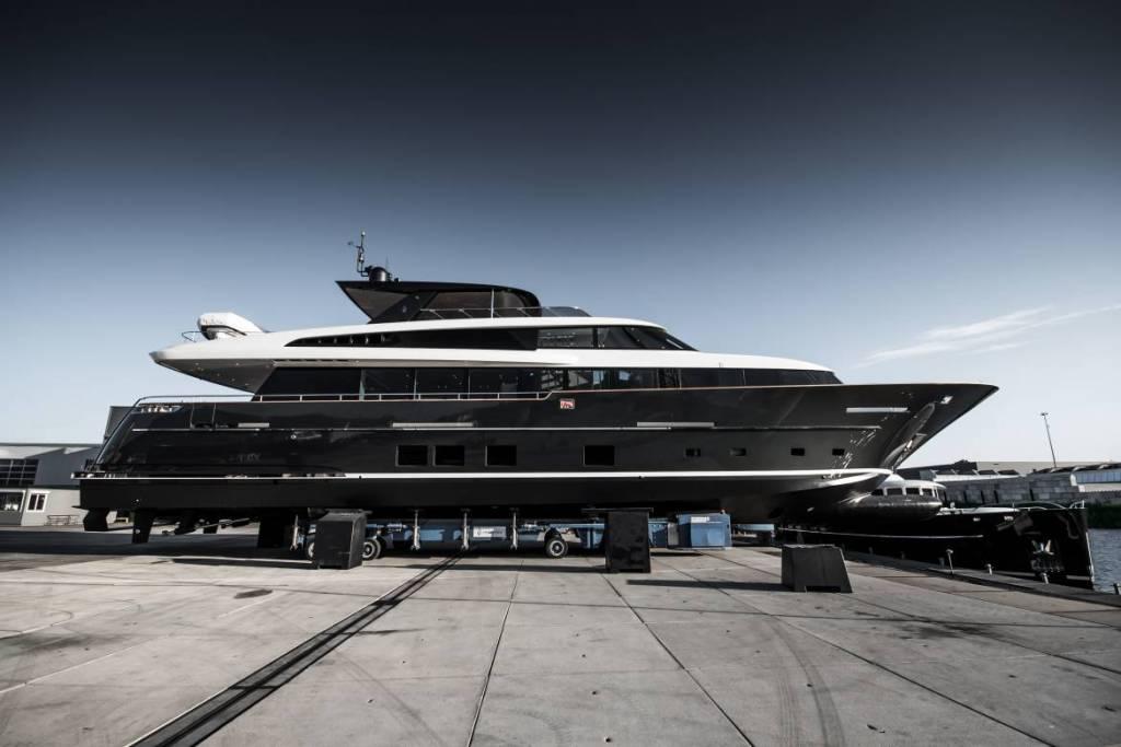 Van der Valk launches 32m raised pilothouse Jangada 2