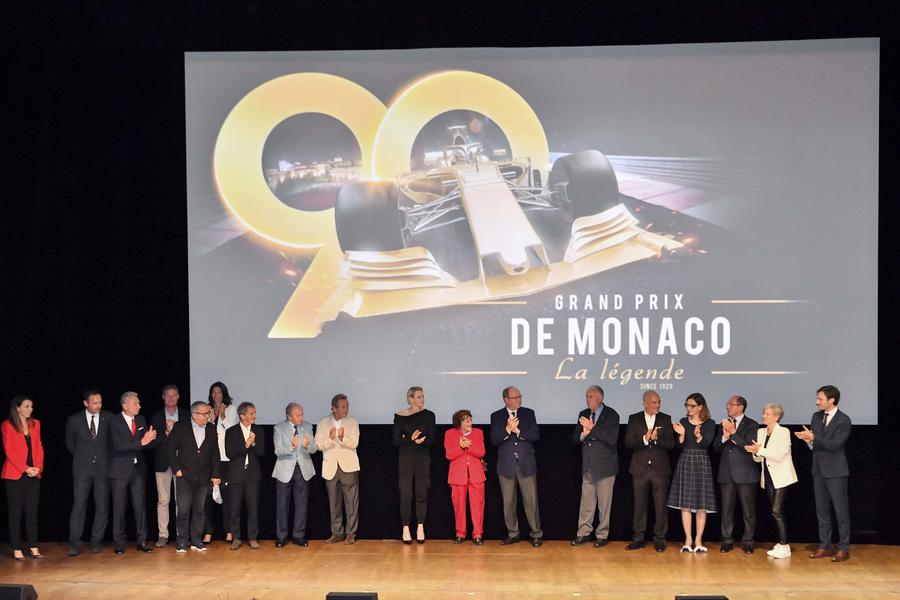 "Preview with Prince Albert of the documentary ""Monaco Grand Prix, The Legend"""