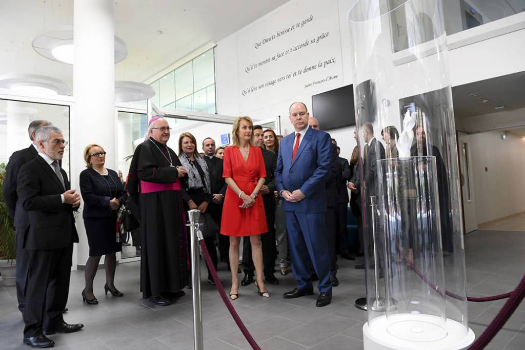 Prince Albert Inaugurates the new UltraModern FANB