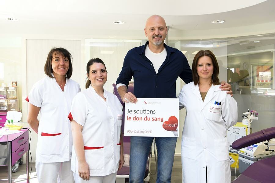 AS Monaco Basket Supports Blood Donation