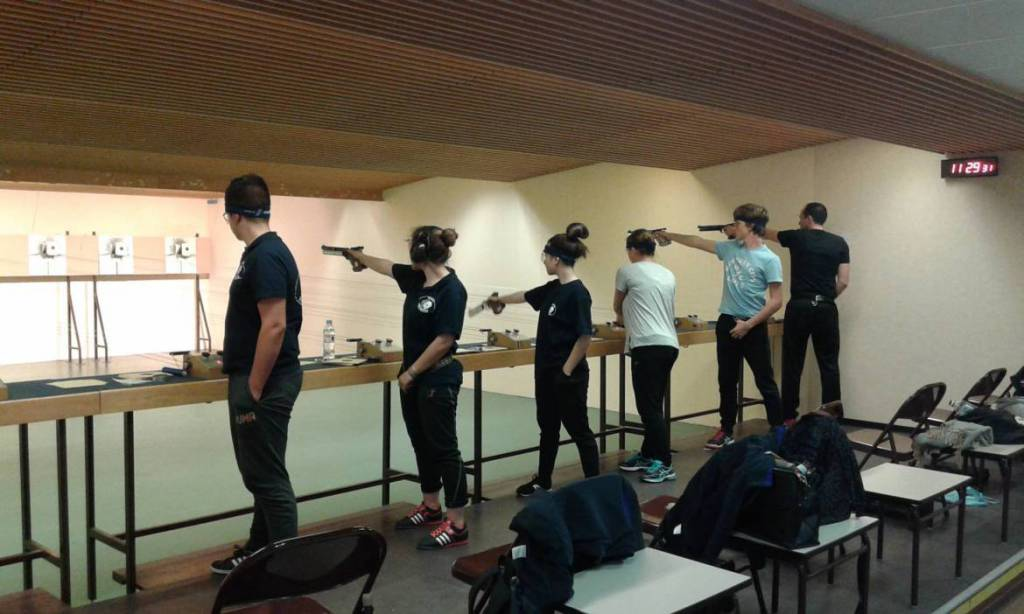 Interactive Shooting Range for Monaco's Police