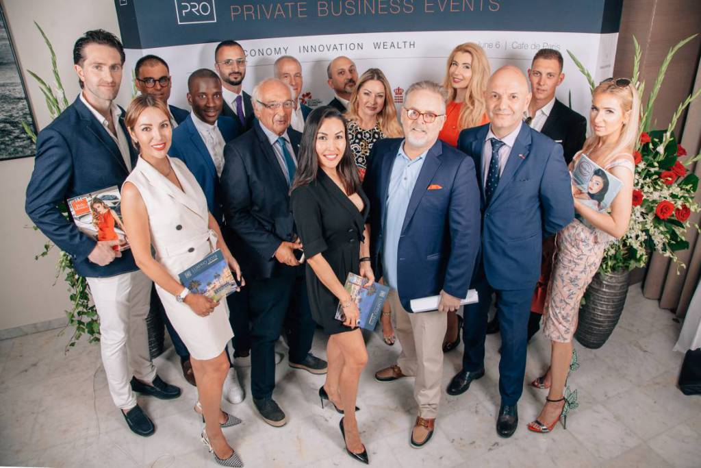 LUXPRO Monaco, June 2019 cheers business and best ideas