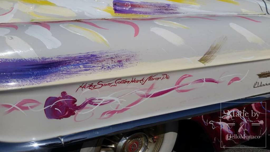 Heiko Saxo Rolling Work of Art and Queen Elizabeth in Monaco