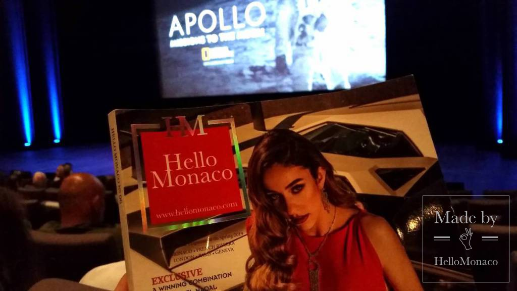 """""""Apollo, Missions to the Moon"""" world preview landing in the Principality"""