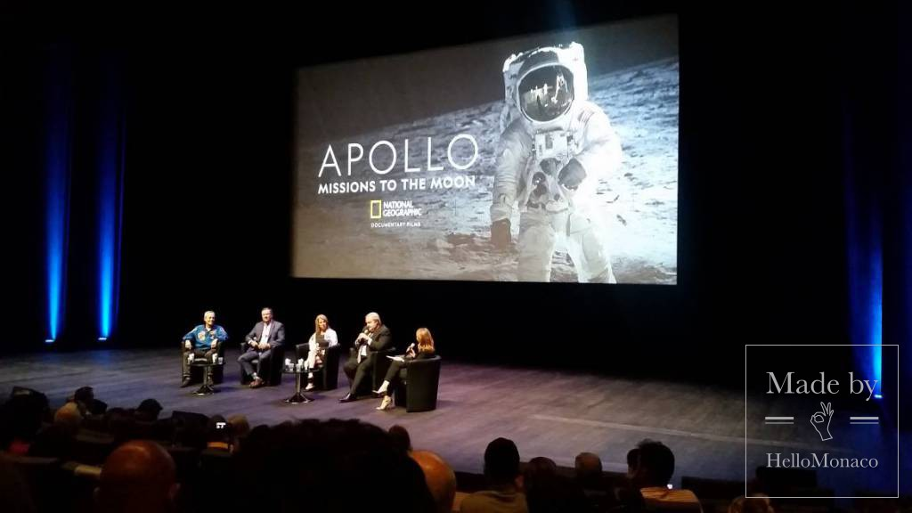 """Apollo, Missions to the Moon"" world preview landing in the Principality"