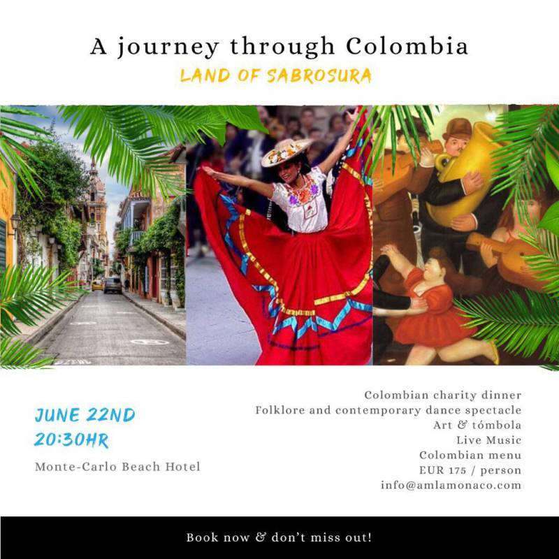 """*Colombia - the land of Sabrosura! * """"A Tribute to Colombia's 200 years Bicentenario"""""""