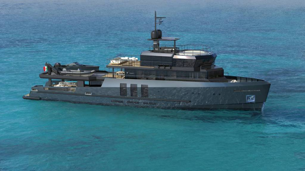 Baglietto presents 43m sportfisherman explorer