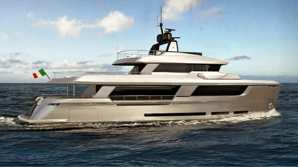 CNC reveals new Ocean King explorer yacht