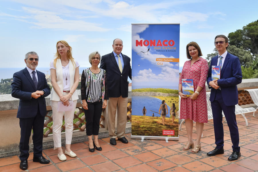 Presentation of the First Monaco History Workbook