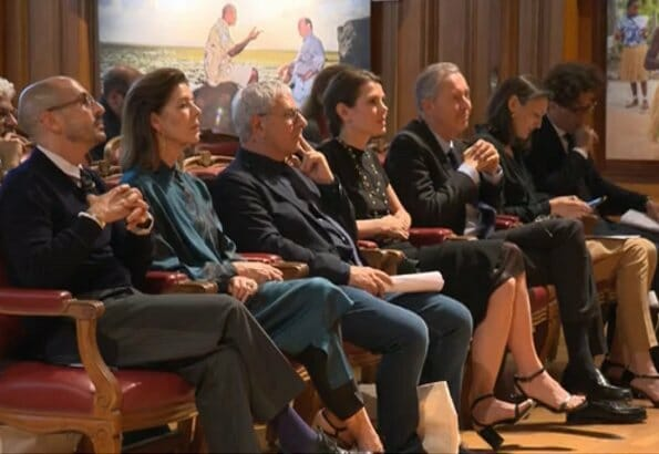 Charlotte Casiraghi attended prize giving ceremony of 2019 Philosophical Encounters