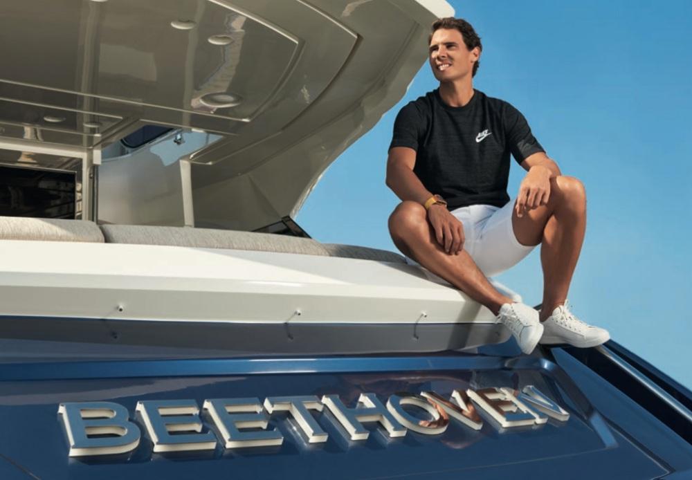 Is Rafael Nadal selling his 24m yacht Beethoven?