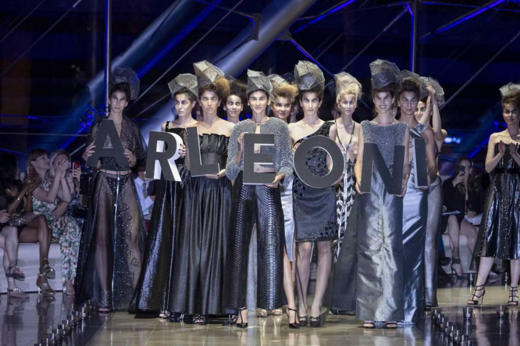 Arleoni Fashion Show in Monaco: BLACK DIAMOND Collection of Unique Pieces