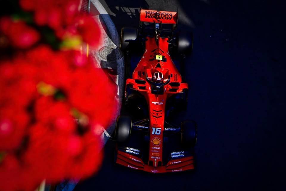 Formula 1 Racing Ace Charles Leclerc