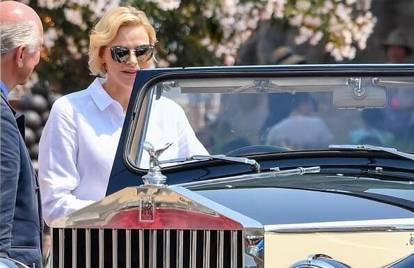Princess Charlene presented Elegance and Automobile Monte-Carlo 2019 awards