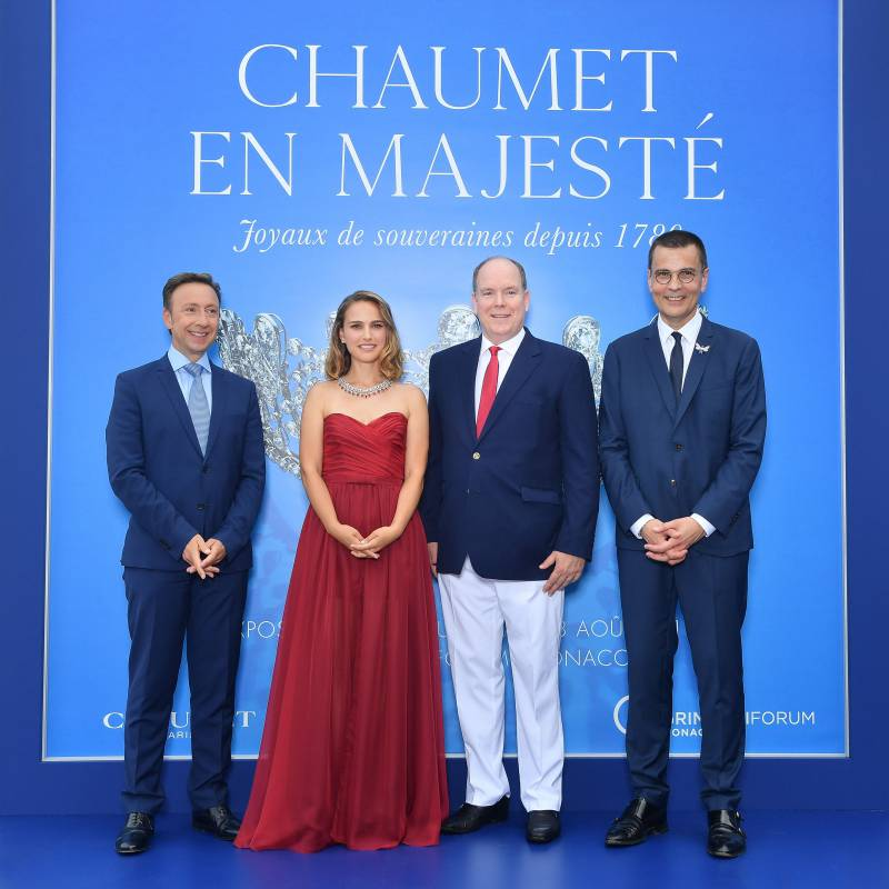Chaumet's tiaras surprising showroom at Grimaldi Forum