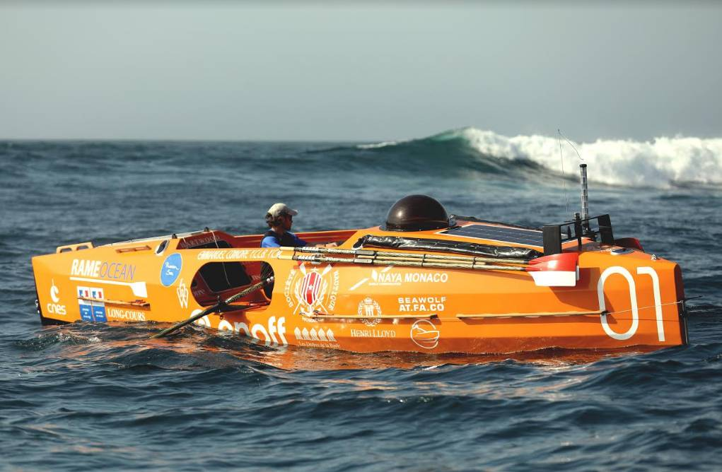 World Records Fall in a Race across the North Atlantic