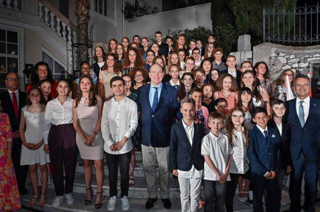 Winners of the Monegasque Language Competition