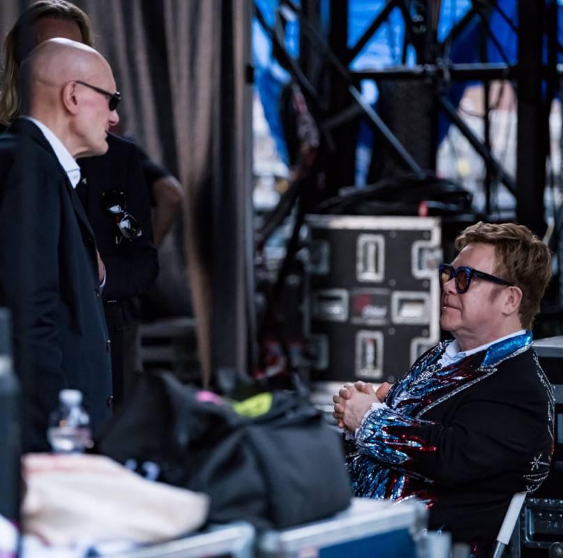 British popstar Elton John