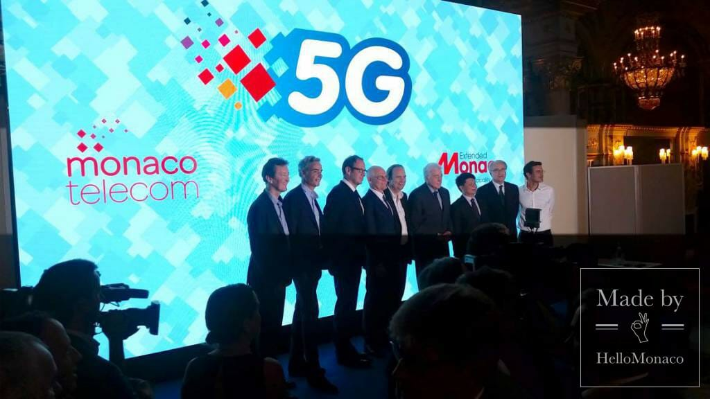 The Principality of Monaco goes fully 5G high-tech