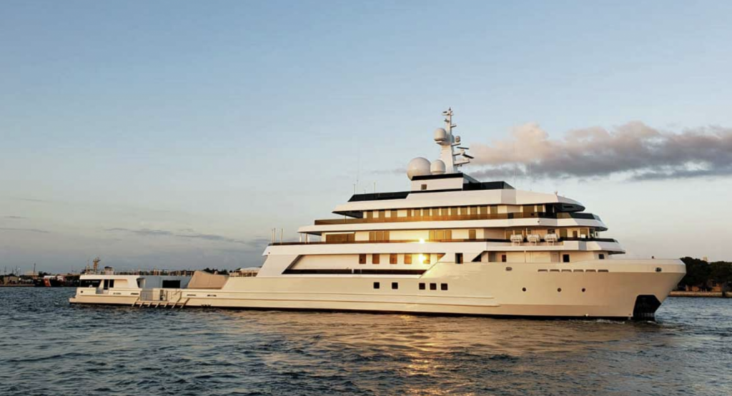 90m superyacht Voyager- the largest commercial ship converted in the USA