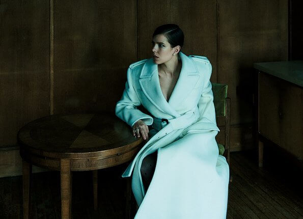 Charlotte Casiraghi gave an interview to Vogue Mexico magazine