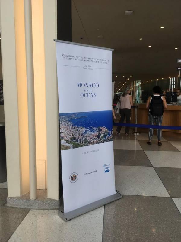 """""""Monaco and the Ocean"""" photo exhibition at UN"""