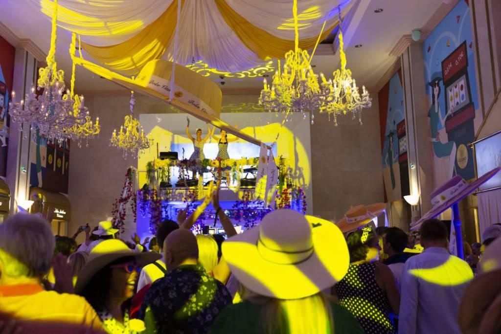 Dolce Vita Evening at Casino Cafe de Paris Glitters and Surprises