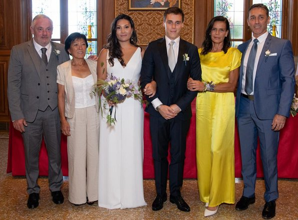 Louis Ducruet got married to Marie Chevallier