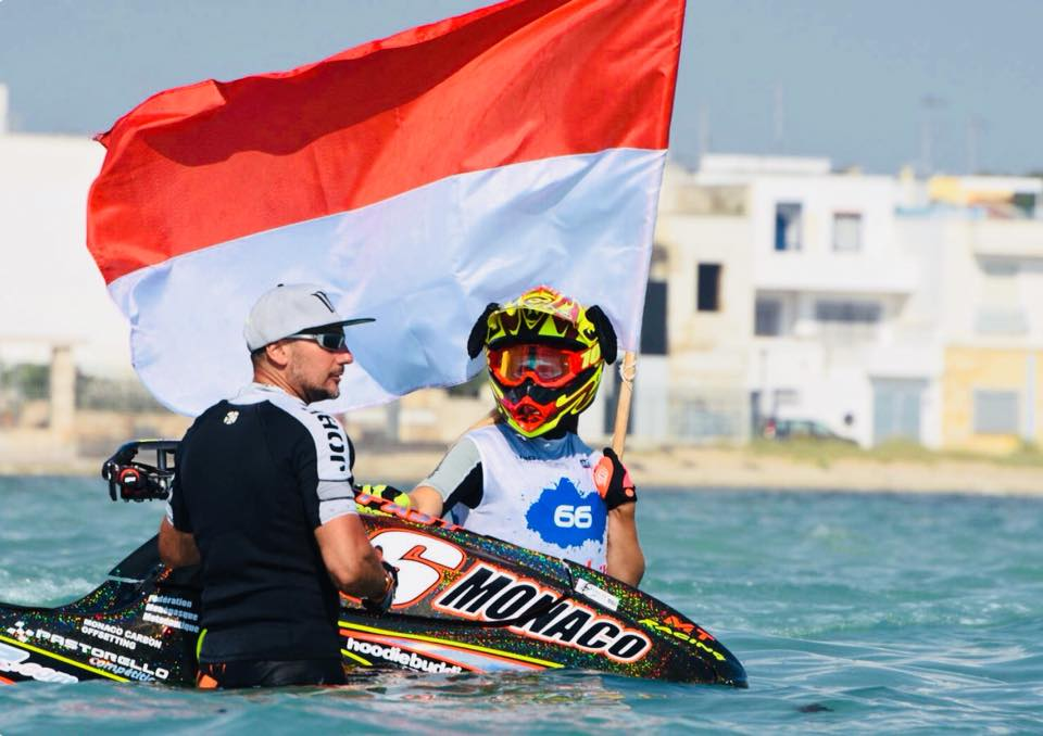 A Monaco Potential Violinist Takes On the Women of the World on her Jet-Ski