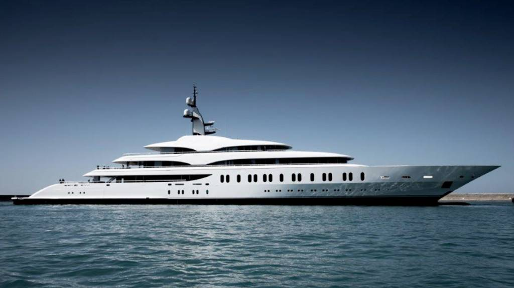 Benetti delivers 108m superyacht FB275 to Australian casino tycoon