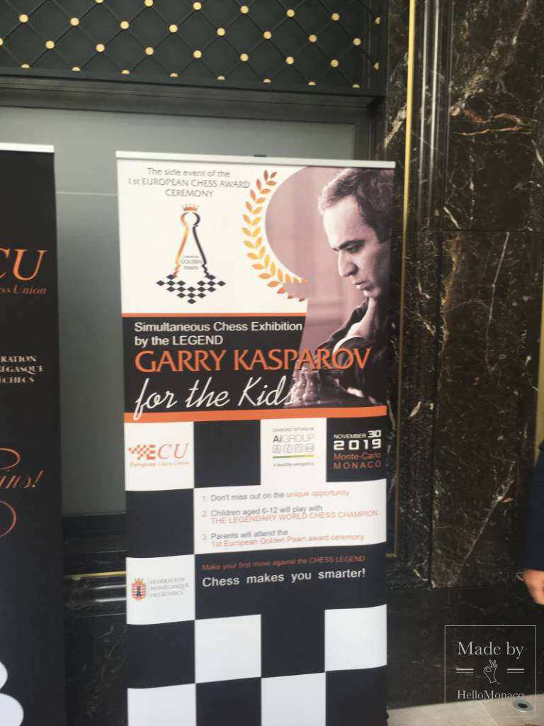 """The Golden Pawn"", International Chess Event of The Year"