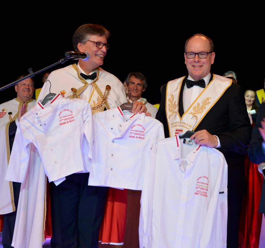 Prince Albert attends 50th anniversary of The Grand Cordon d'Or
