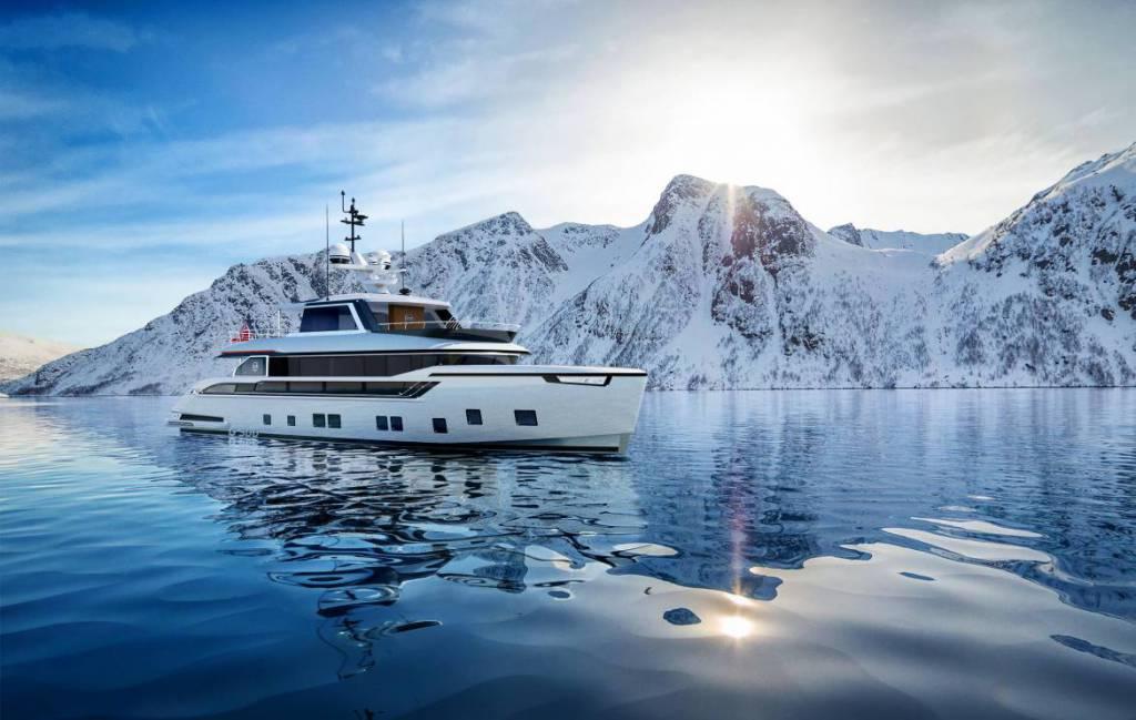 Compact explorer yacht Dynamiq Global 300 asking EUR 9 million