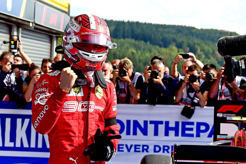 Charles LeClerc Dedicates his First F1 Grand Prix Win to his Friend who Tragically Died