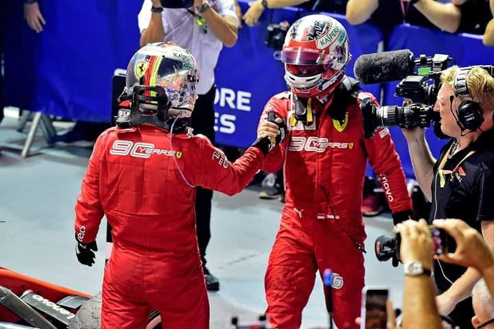 LeClerc Brilliant in the Singapore Grand Prix