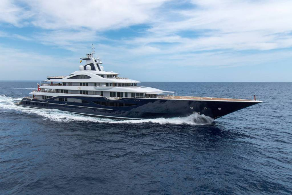 111-meter TIS will be the largest yacht in the history of the Monaco Yacht Show