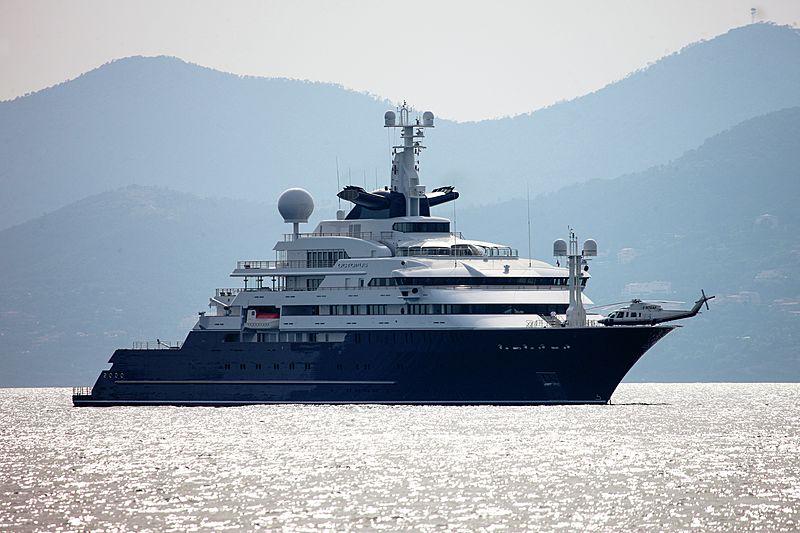 126m Octopus Paul Allen's legendary explorer superyacht now listed for sale