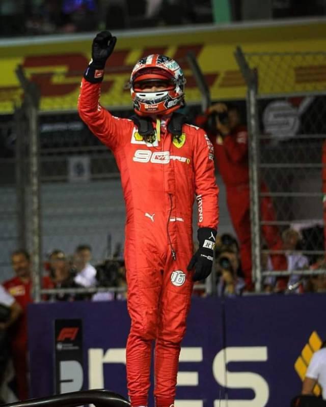 LeClerc Brilliant in the Singapore Grand Prix