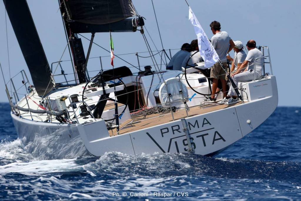 World Class Field of Yachts Races To Monte Carlo from Palermo