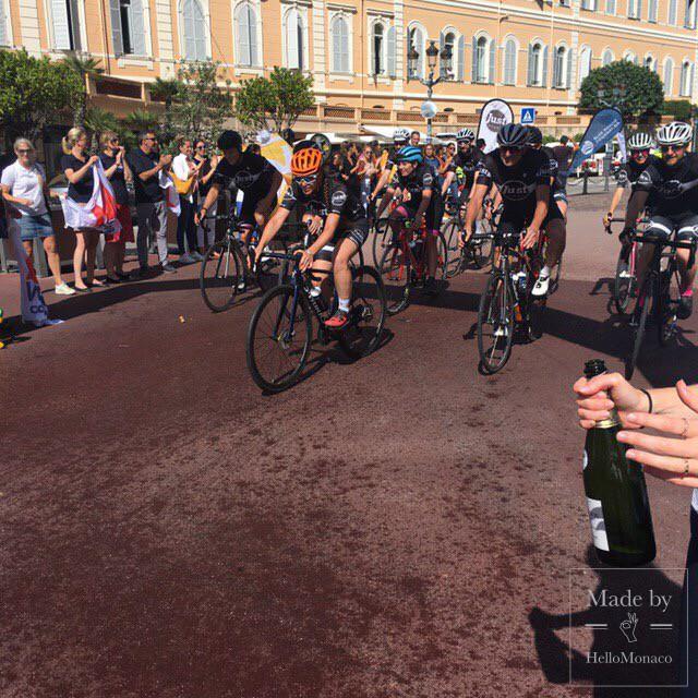 London2Monaco Cyclists