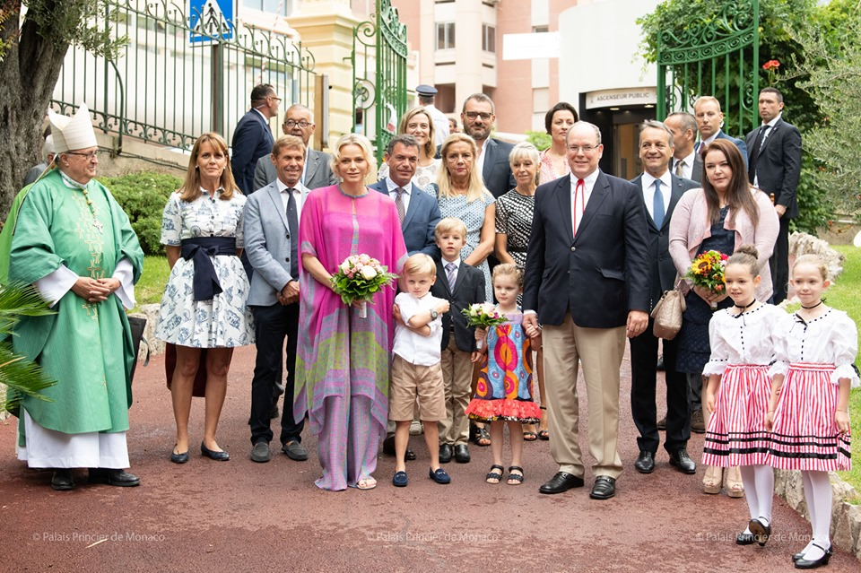 Princely Family attend Monegasque Picnic in the Rain