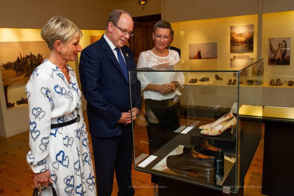 Prince Albert makes Historical Visit to Romans-sur-Isère and Rouen