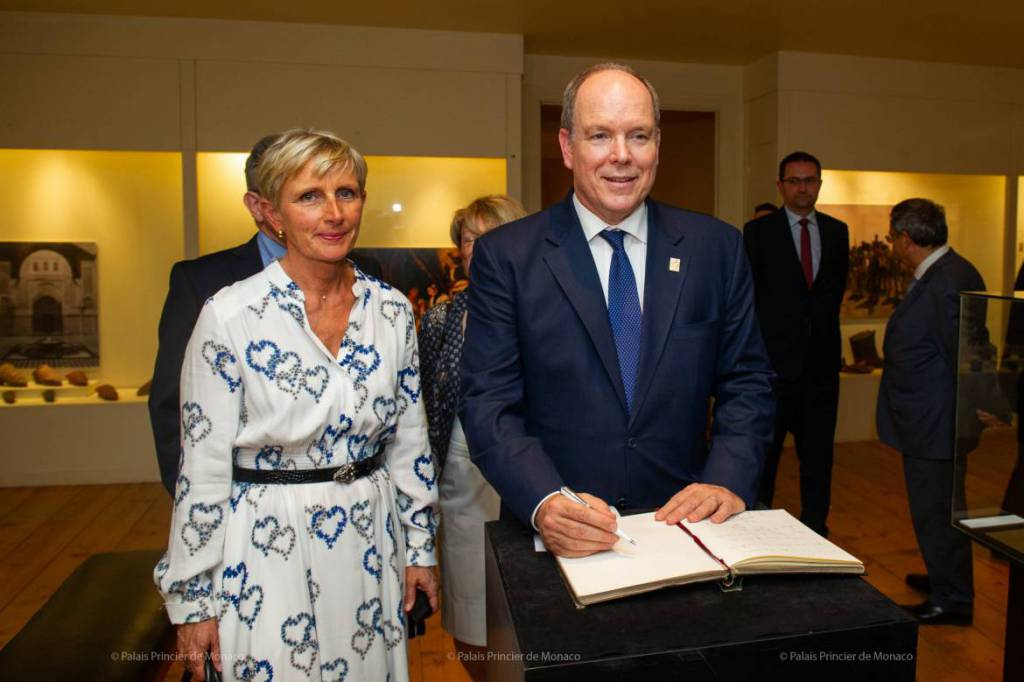 Prince Albert makes Historical Visit to Romans-sur-Isère and Rouen