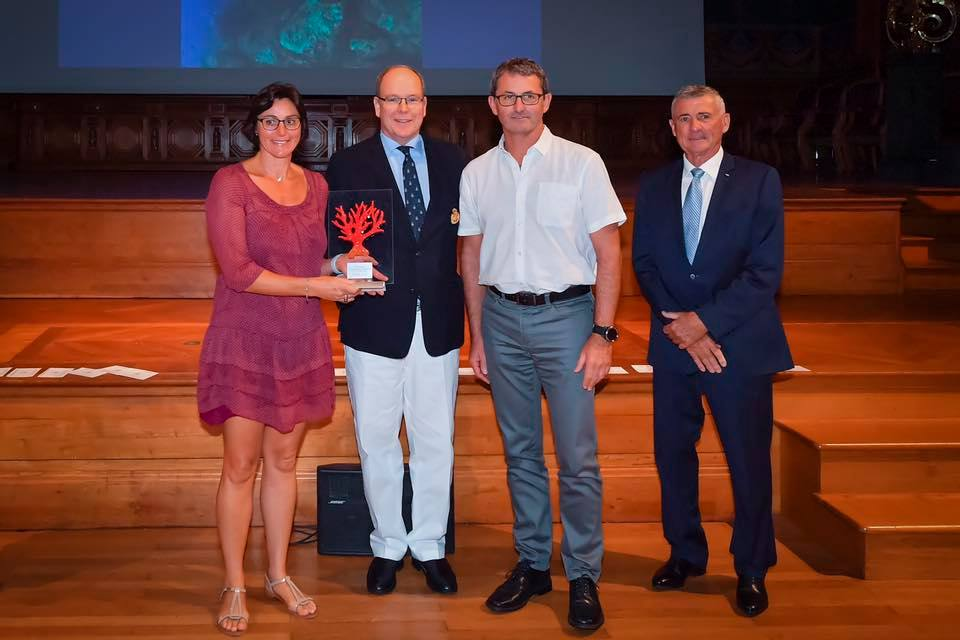 Prince Albert attends 16th Underwater Photography Contest