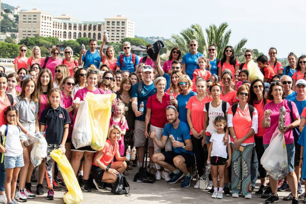 Prince Albert participates in World Cleanup Day