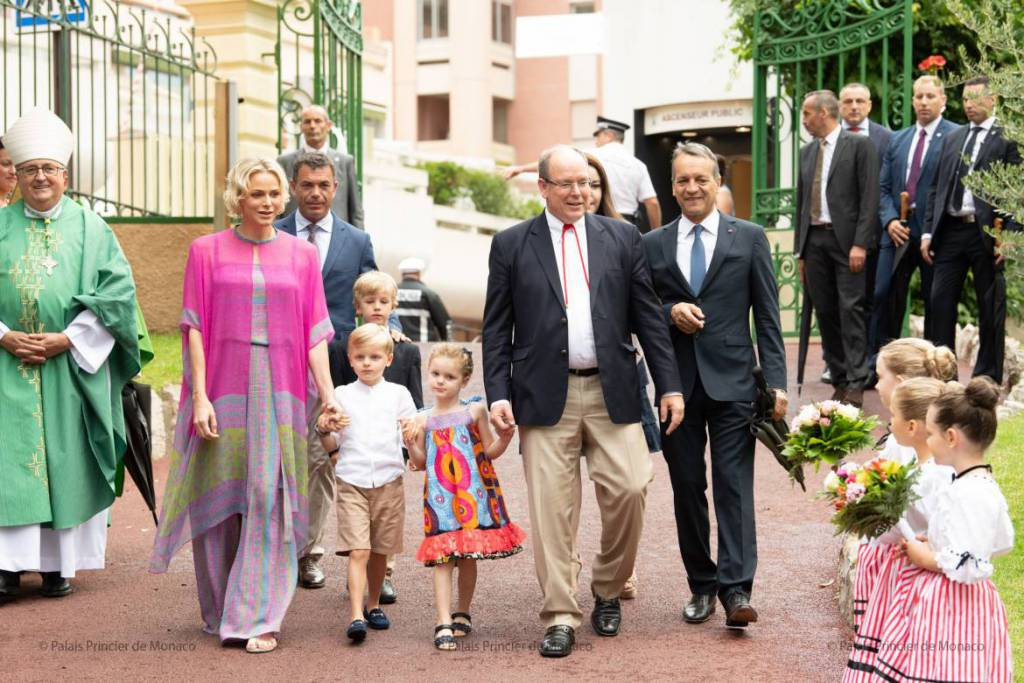 Prince Albert and Charlene attended the Annual Monaco Picnic