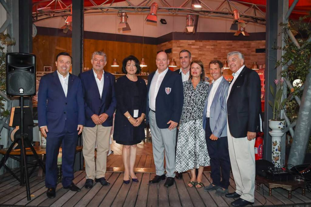 Prince Albert attends Olympic Athletes Association Barbecue