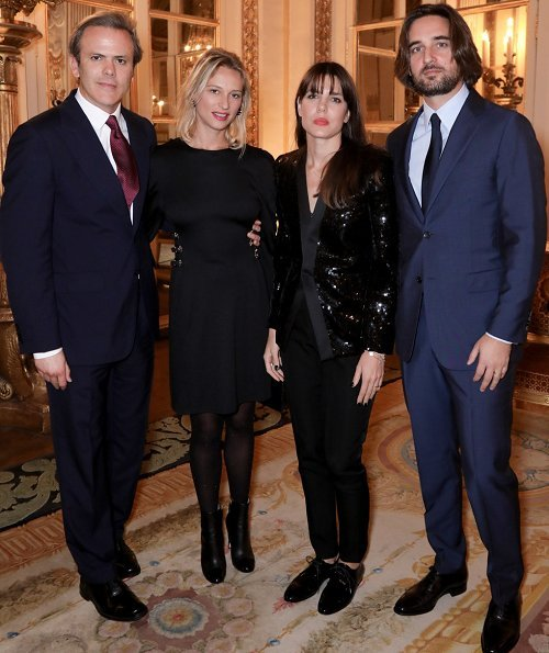 Charlotte Casiraghi and Dimitri Rassam attended ANDAM's 30th anniversary dinner