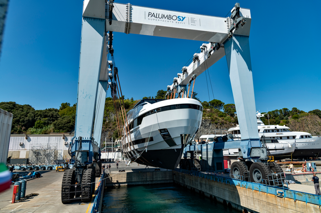 EXTRA 130 Alloy launched today in Savona superyacht premiere at Monaco Yacht Show