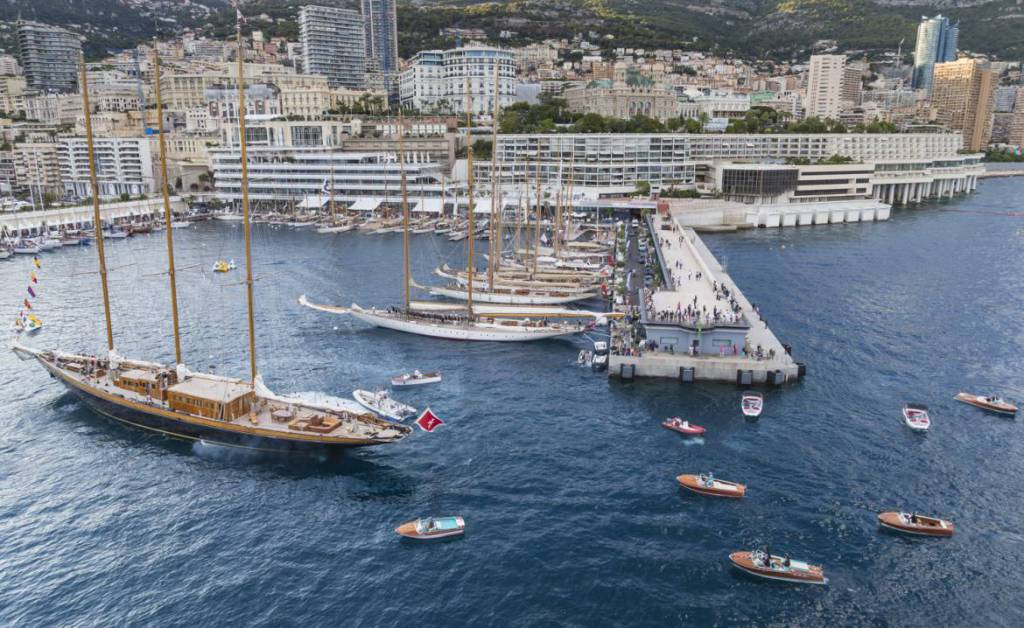 American Yachts on display for Classic Week Monaco